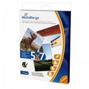 Хартия MediaRange MRINK114 A6 130x180mm 5x7 Photo Paper за мастилено-струйни принтери, high-glossy coated, 220g, 50 sheets / страници