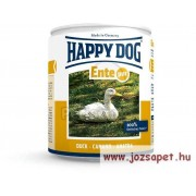 Happy Dog Pur kacsás kutyakonzerv 12*200g