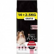 Pro Plan Adult Medium Sensitive Skin Salmon Optiderma 3 kg