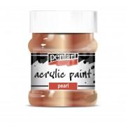 Pentart Metál antikréz színű akril bázisú hobbi festék 230 ml