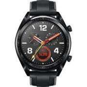 Huawei Watch GT 46mm (FTN-B19) black stainless steel,black silicone remen - ODMAH DOSTUPNO