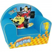 Mickey Fauteuil Pour Enfant - 1 Place - Mickey Roadster Racers Disney