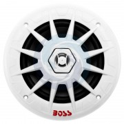 Boss Coppia altoparlanti stagni Boss Marine MRGB65 con sistema LED integrato