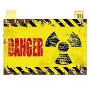 Geen Geel deurbordje Danger