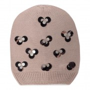 Шапка LIU JO - Beanie Maglia Paille 269014 M0300 Red Sand 61509