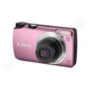 Canon A3300 IS Appareil Photo Numérique Compact 16 Mpix zoom 5 x Rose - Ecran LCD 3 Pouces