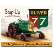 """""""Sign - Oliver Tractor 77"""""""