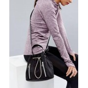 Fiorelli Sport Drawstring Duffle Bag in Black - Black