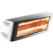 Incalzitor cu Infrarosii Heliosa Hi Design 44 2kW , Culoare Alba, IPX5, Incalzire exterior si interior, Rezistent la atat la ploaie cat si la jet de apa, Fabricatie Italia