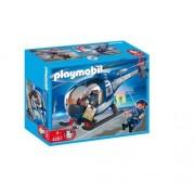 Playmobil - 4267 - Jeu De Construction - Hélicoptère De Police