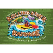 Vacation Bible School (Vbs) 2018 Rolling River Rampage Thank You Postcards (Pkg of 24): Experience the Ride of a Lifetime with God!