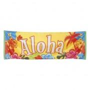 Merkloos Aloha spandoeken hawaii thema