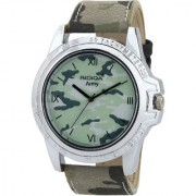 RIDIQA Analog Army Designed color strap casual wear watches for men and boys RD-128