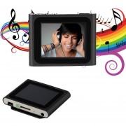 EH Portátil De 1,8 Pulgadas De Pantalla LCD De Visualización 6 ª Generación De Medios De Comunicación De Música MP4 Player - Negro