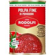 Pulpa de rosii fin tocate Rodolfi, 400g