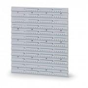 Allit Plastové stěna pro zavěšení boxů plus, compact