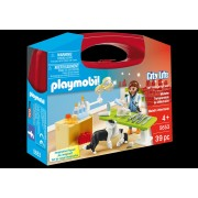 PLAYMOBIL - SET PORTABIL - IN VIZITA LA VETERINAR (PM5653)