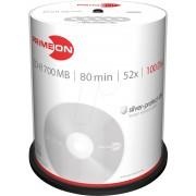 PRIM 2761103 - CD-R 80Min/700MB, 100-er Cakebox