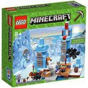 LEGO Minecraft kocke The Ice Spikes - Ledeni vrhovi 454 dela 21131