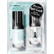 edding Make-up Nails P.O.W.E.R. Set L.A.Q.U.E. Nr. 214 Marry Me Mint 8 ml + Gel-Look Top Coat 8 ml 1 Stk.