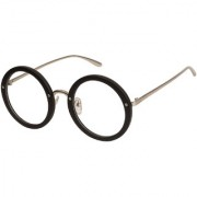 Arzonai Daisy Round Black-Transparent UV Protection Sunglasses For Women  MA-3075-S2 
