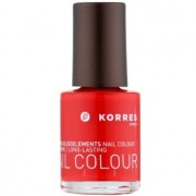 Korres Decorative Care Nail Colour esmalte de uñas tono 48 Coral Red 10 ml