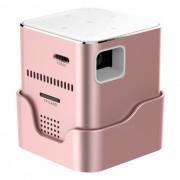 ORIMAG P6 Mini Proyector Portatil DLP LED FHD - Rosa (US Plugs)