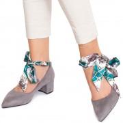 Pantofi dama Abbey, Gri 40