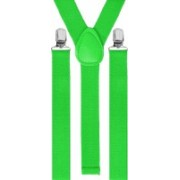 Eccellente Y- Back Suspenders for Men(Green)