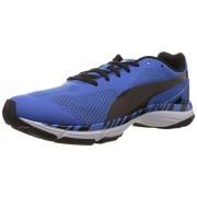 Puma Men's Mobium Unify Strong Blue-Black Mesh Running Shoes - 10UK/India (44.5EU)