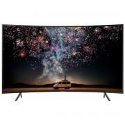 Televizor curbat LED Samsung 55RU7302, 138 cm, 4K Ultra HD, PQI 1500, Dolby Digital Plus (20W), Procesor Quad-core, Smart TV, Wi-Fi, Bluetooth de energie scazuta, CI+, Clasa energetica A, Negru