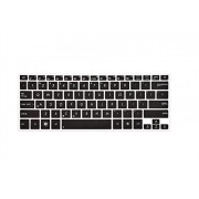 Leze - Ultra Thin Silicone Laptop Keyboard Cover Skin Protector for ASUS UX31 UX32A UX301 UX301LA UX303 UX303UA UX303LN UX303UA UX303UB UX305 UX305LA UX306UA UX360CA Q304UA Laptop - Black