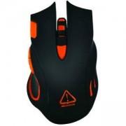 Геймърска мишка, Оптична, DPI 800/ 1600/ 2400/ 4800/ 6400, LED, Черна, CND-SGM5N