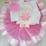 Set Rochiță Tutu - Princess Crown