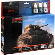Kit tanc de asamblat SHERMAN II World of Tanks pentru incepatori