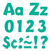 Teal 4-Inches Playful Combo Pack Ready Letters