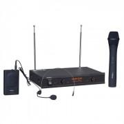 VHF2H Sistema Microfone Mão Sem Fios Wireless