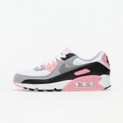 Nike W Air Max 90 White/ Particle Grey-Rose-Black