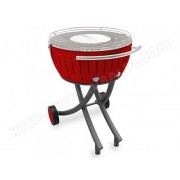LOTUSGRILL barbecue à charbon 60 cm rouge - lg-ro-600