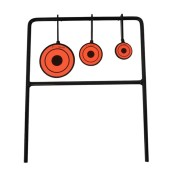 AURKTECH Hunting 3-Plate Reset Shooting Target/Small Metal Reduction Carbon Steel