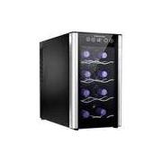 Adega de Vinhos Electrolux ACS08 Preta para 8 Garrafas