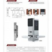 Evotech Residential Commercial Wooden Doors Locks Digital Door Lock Easy to Install for Locker Office Home- ETD31