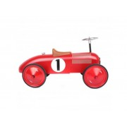 Vilac Classic Ride-On Racing Car - Red