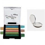 Selfie 5 in 1 Shimmer Eye Shadow-04 With 1 Pocket Mirror