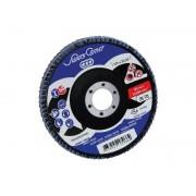 Disc abraziv lamelar Professional 125x22.23, Z60, metal/inox, Swaty Comet