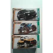 Matchbox Power Grabs Set of 3 - Range Rover Evoque + Baja Bandit + Ghe-O Predator