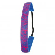 Ivybands Anti-Rutsch Haarband Neon Special Pink Blue / 1,6 cm breit