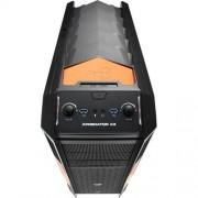 Skrinka AEROCOOL XPredator X3 Evil Black Edition (Black/Orange)