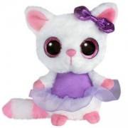 Плюшена играчка Аврора - Юху и приятели, Пами с лилава панделка, 460232