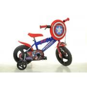 "Bicicleta copii DINO BIKES 412UL CA, Roti 12"", Capitan America"